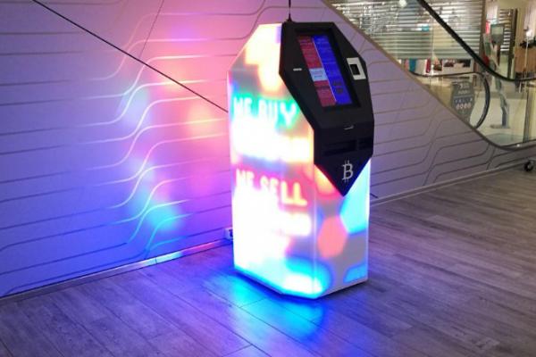 Bitcoin ATM on the world