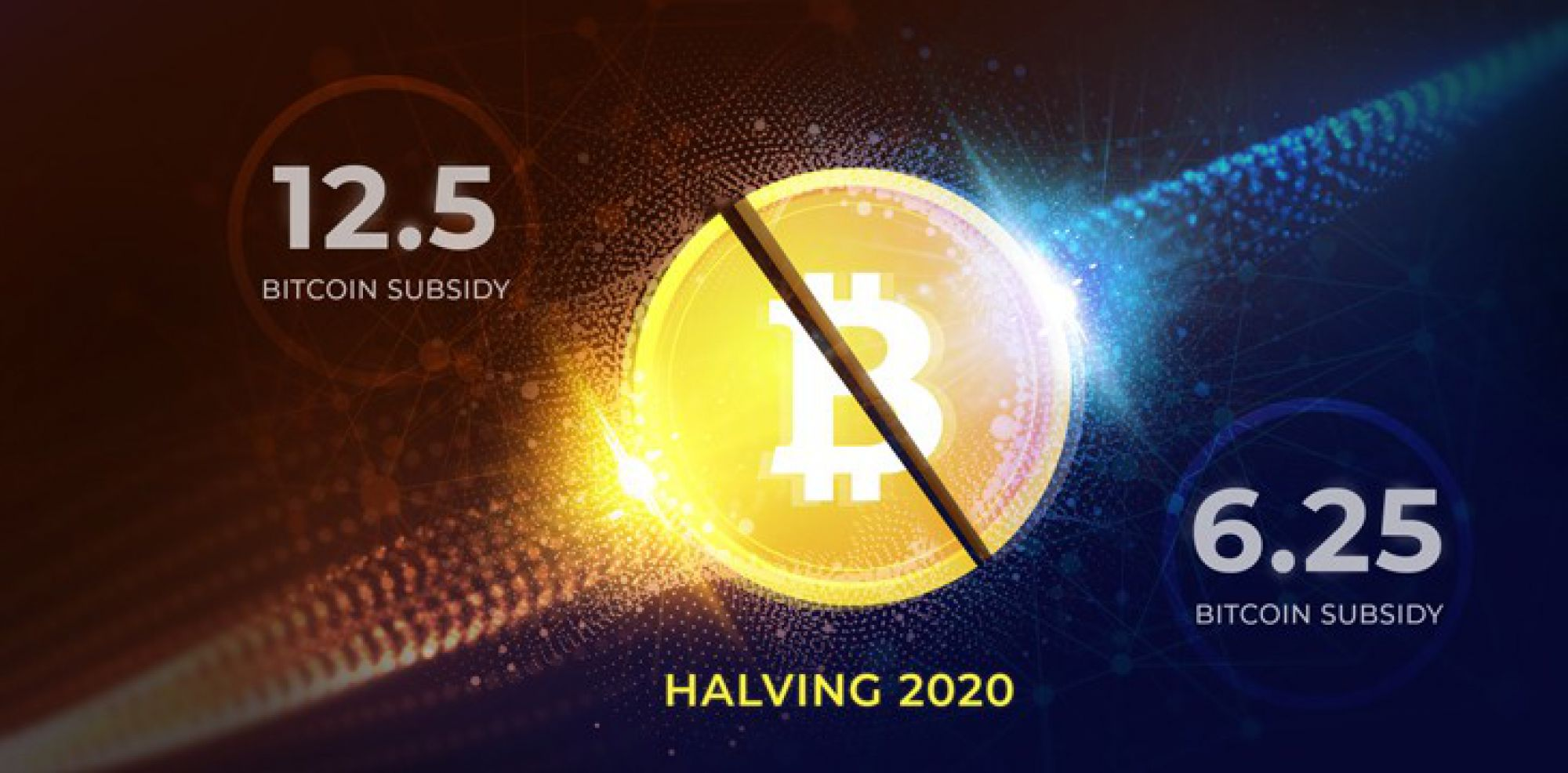 Bitcoin halving is behind us! From today only 6.25 BTC per block
