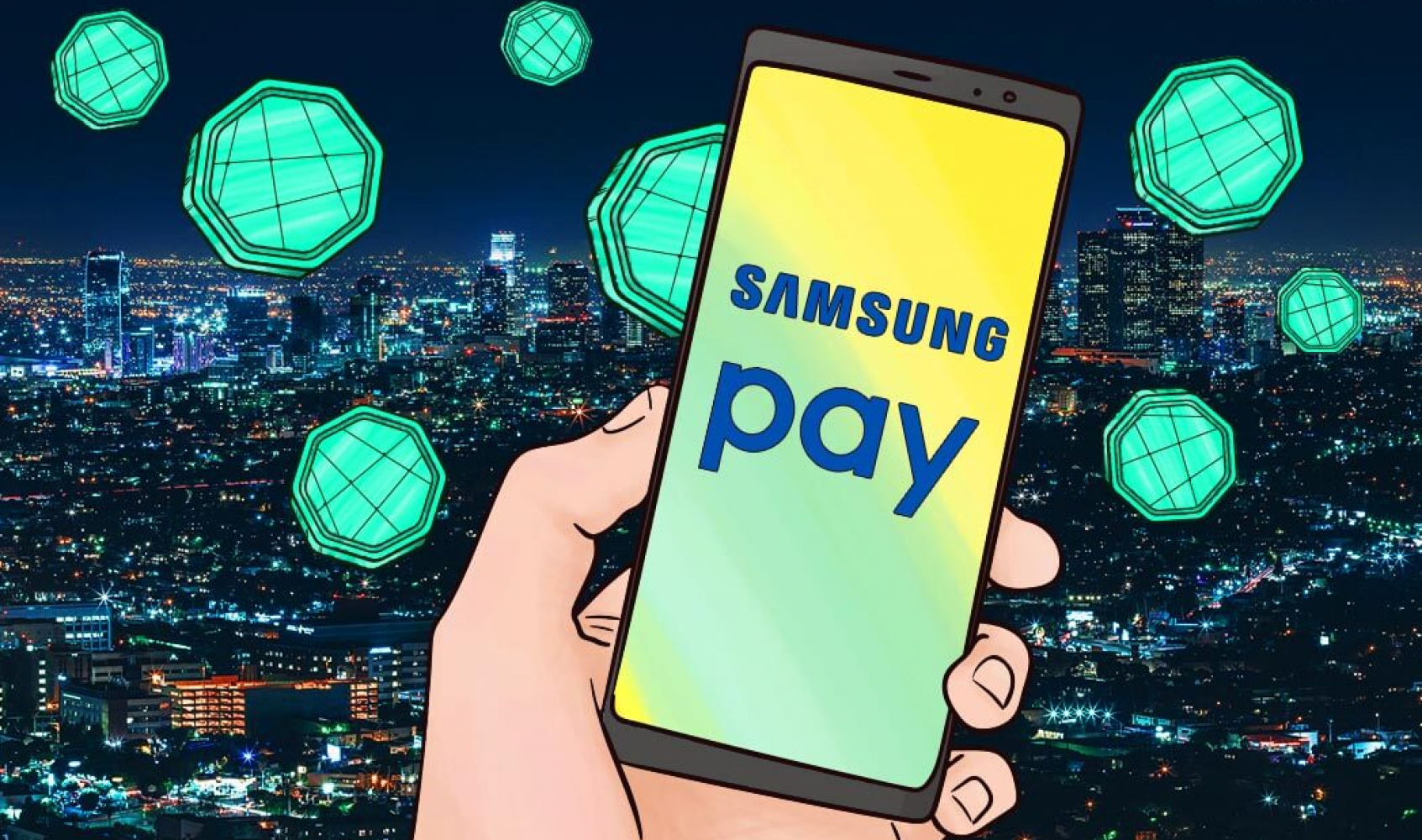 Samsung Pay will allow you to pay with cryptocurrencies